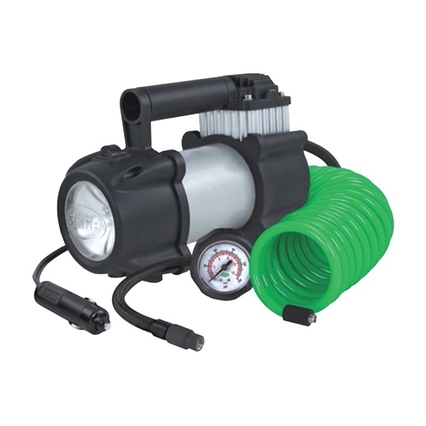 Picture of Slime Pro Power 40031 Tire Inflator, 12 V, 0 to 150 psi Pressure, Dial Gauge