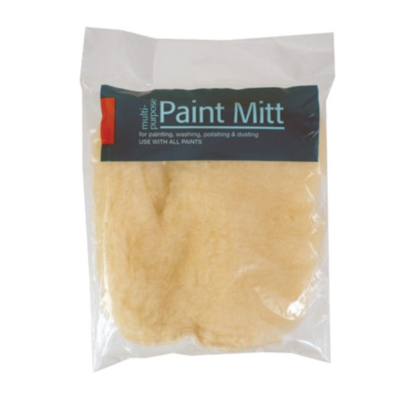 Picture of WOOSTER R044 Paint Mitt, Synthetic, White