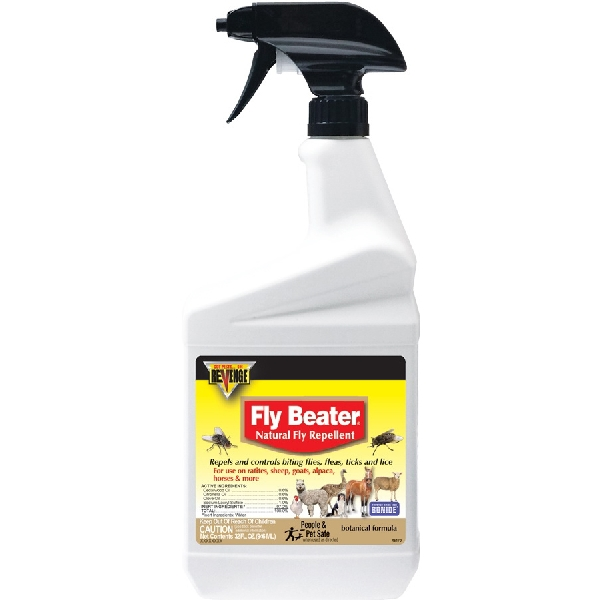 Picture of Revenge 46170 Fly Repellent, Liquid, Clear, 1 qt Package