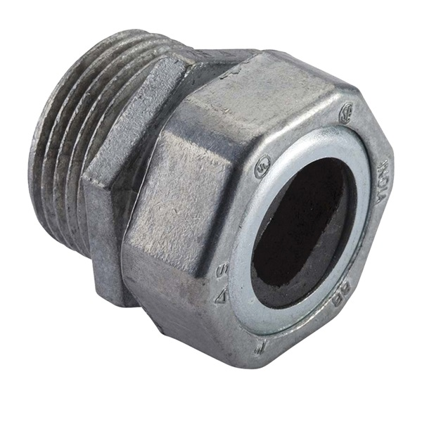 Picture of Halex 10420 Watertight Connector, Compression, Zinc