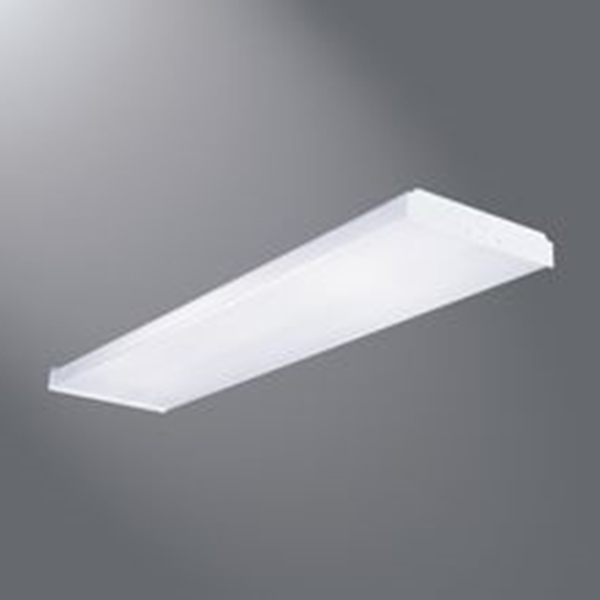 Picture of Metalux WN432R Wrap Light, 120 V, 4-Lamp, Bi-Pin Lamp Base, 3100 Lumens, Steel Fixture