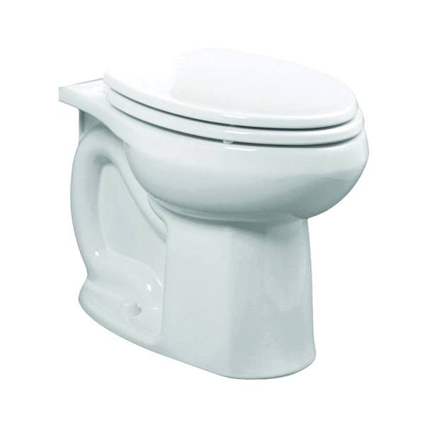 Picture of American Standard Colony 3251A.101.021 Flushometer Toilet Bowl, Elongated, 1.6 gpf Flush, 12 in Rough-In, Bone