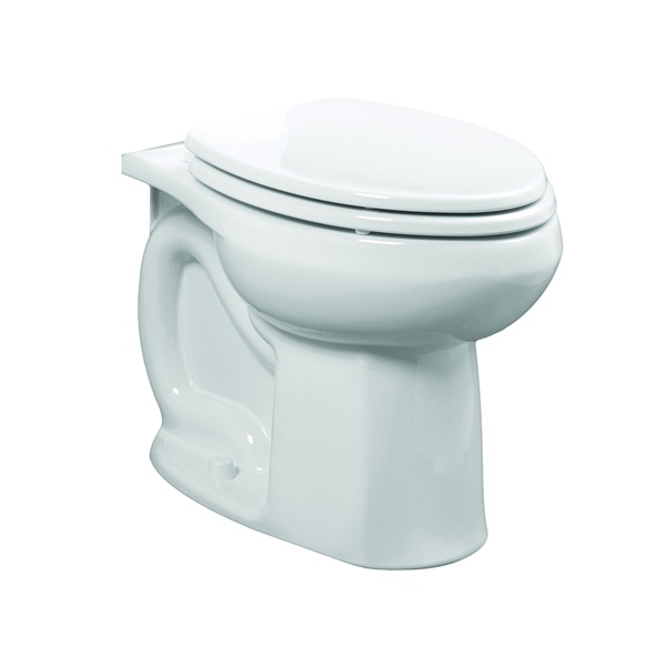 Picture of American Standard Colony 3251C.101.020 Flushometer Toilet Bowl, Elongated, 1.6 gpf Flush, 12 in Rough-In, White