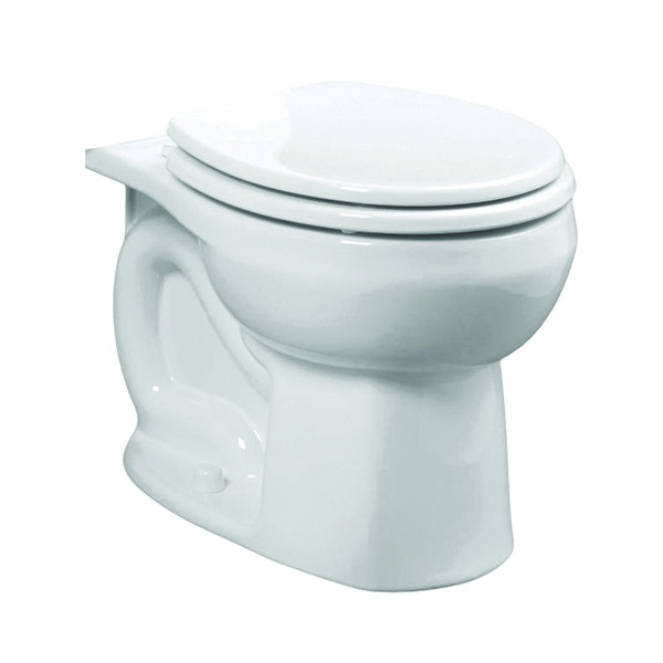 Picture of American Standard Colony 3251D.101.020 Flushometer Toilet Bowl, Round, 1.6 gpf Flush, 12 in Rough-In, Vitreous China