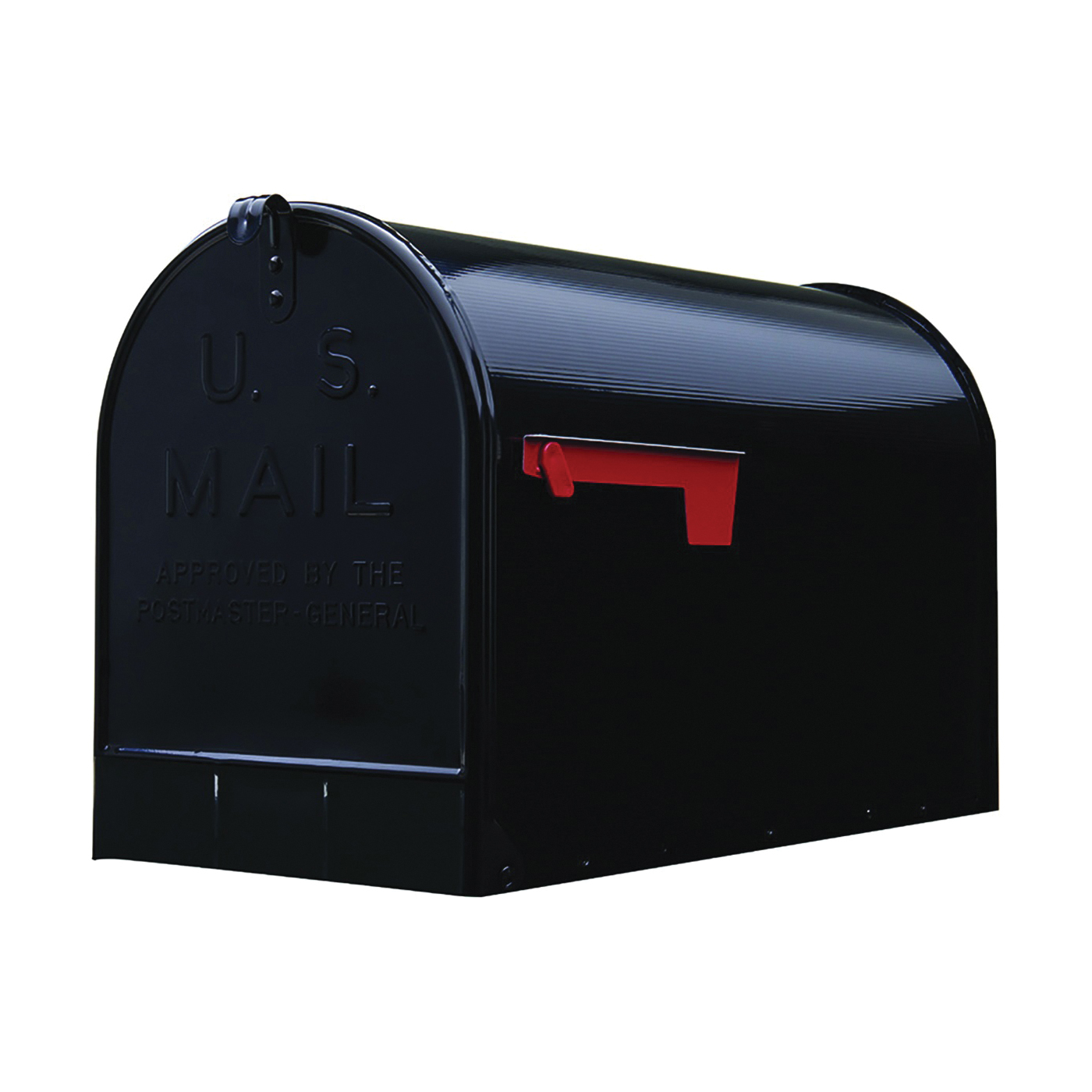 Picture of Gibraltar Mailboxes ST200B00 Rural Mailbox, 3175 cu-in Capacity, Galvanized Steel, Powder-Coated, 11.7 in W, Gray