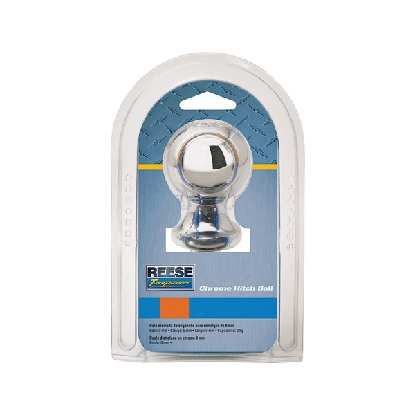 Picture of REESE TOWPOWER 74026 Hitch Ball, 2 in Dia Ball, 1 in Dia Shank, 6000 lb Gross Towing, Steel