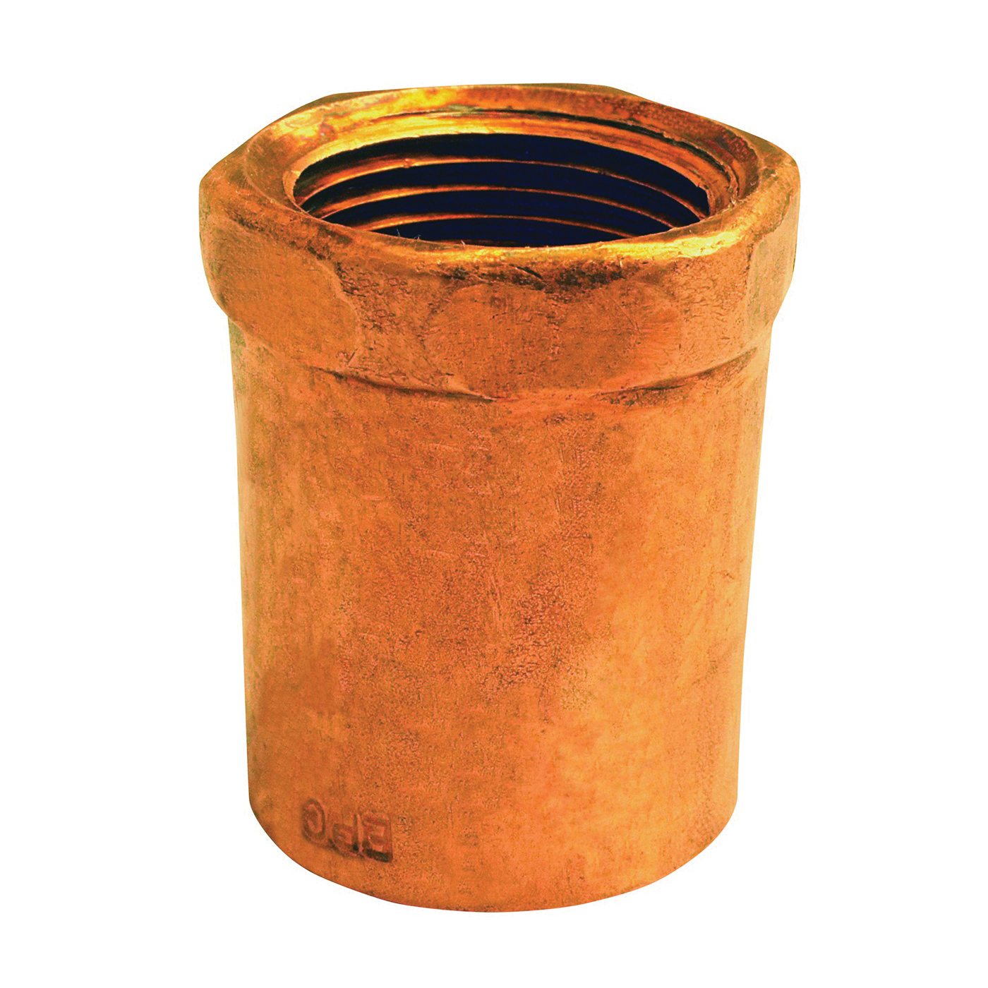 Picture of EPC 103R Series 30136 Reducing Adapter, 1/2 x 3/8 in, Sweat x FNPT, Copper