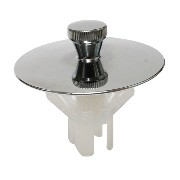 Picture of Keeney K826-37 Drain Stopper, Universal, Polished Chrome, For: Most Common Tub Drain Sizes