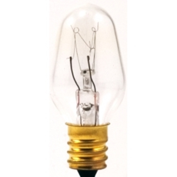 Picture of Sylvania 13549 Incandescent Lamp, 4 W, Candelabra E12 Lamp Base, 2850 K Color Temp, 3000 hr Average Life