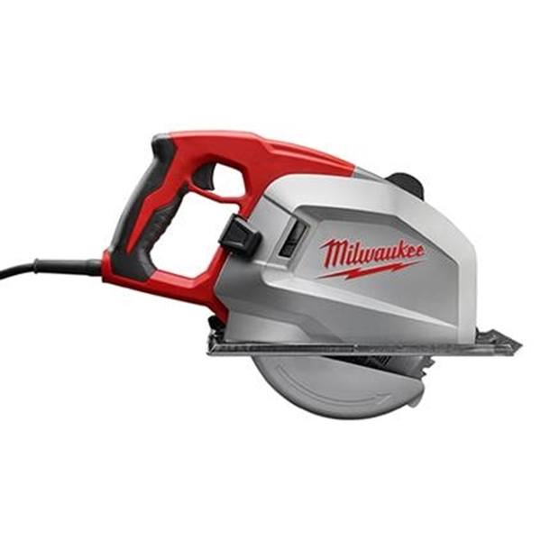 Picture of Milwaukee 6370-21 Circular Saw, 120 V, 15 A, 1560 W, 8 in Dia Blade, 5/8 in Arbor, 2-9/16 in D Cutting