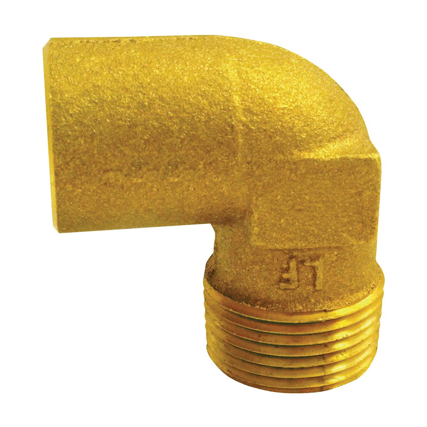 Picture of EPC 10156842 Pipe Elbow, 1/2 in, Compression x Male, 90 deg Angle, Copper