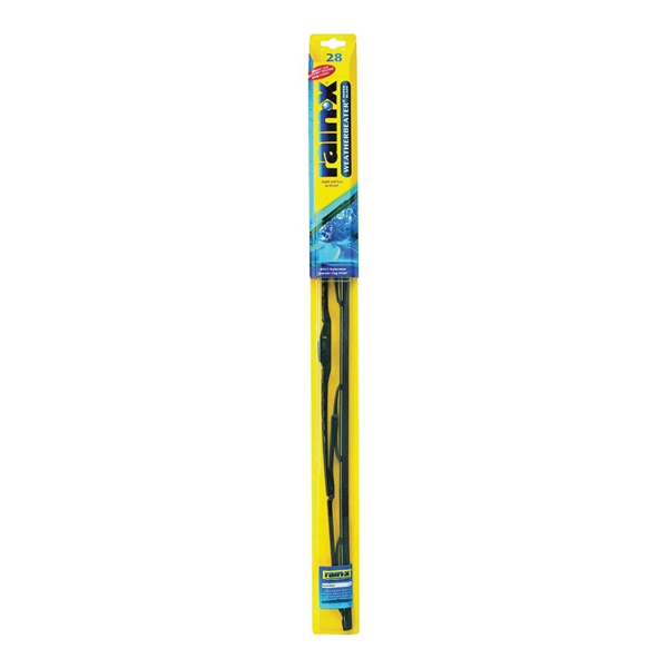Picture of Rain-X Weatherbeater RX30228 Wiper Blade, 28 in, Spine Blade, Rubber/Stainless Steel