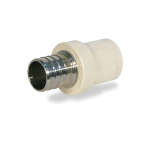 Picture of Apollo APXCPV12/TPC0500 Pipe Adapter, 1/2 in, PEX x Copper Sweat, 100 psi Pressure