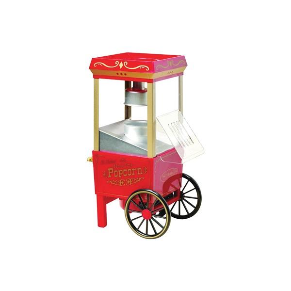 Picture of Nostalgia Vintage OFP501 Popcorn Popper, 3.5 oz Kernel, 1080 W, Orange/Red