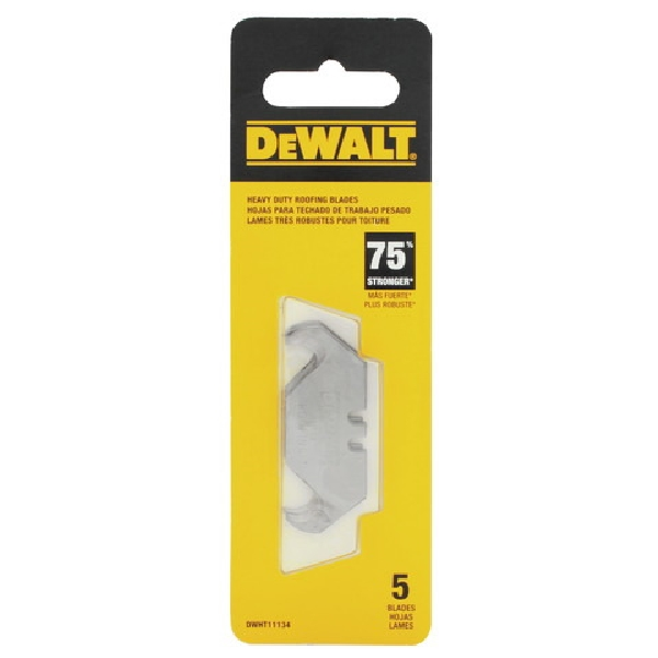 Picture of DeWALT DWHT11134 Roofing Blade, 1-7/8 in L, 2 -Point, 5, Pack