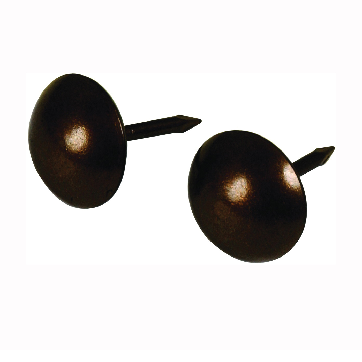 Picture of HILLMAN 122686 Furniture Nail, 7/16 in L, Bronze, Round Head, Snap-Pak