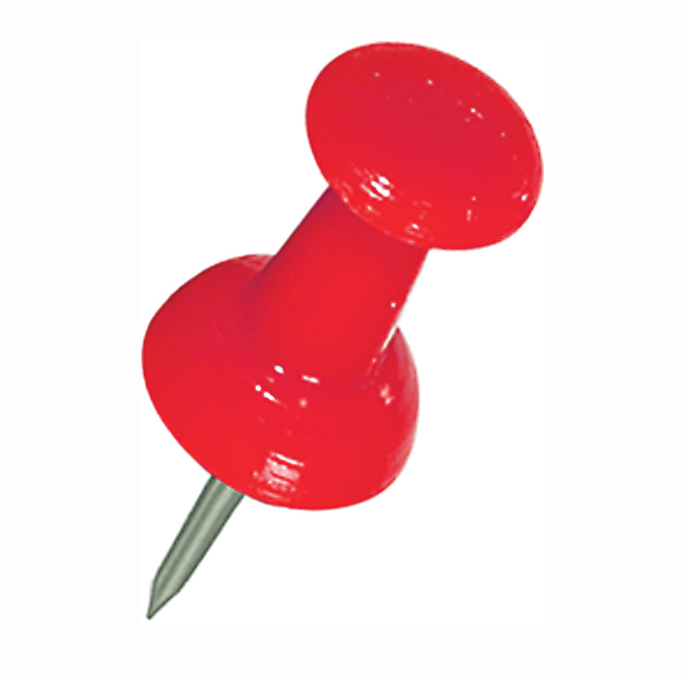 Picture of HILLMAN 122642 Push Pin, 5 in L, Plastic, Red