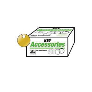 Picture of HY-KO KB147 Key Tag, Round, Brass