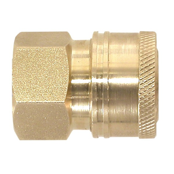 Picture of VALLEY INDUSTRIES PK-85300103 Quick-Connect Coupler, 3/8 in Connection, QC x FNPT, Brass