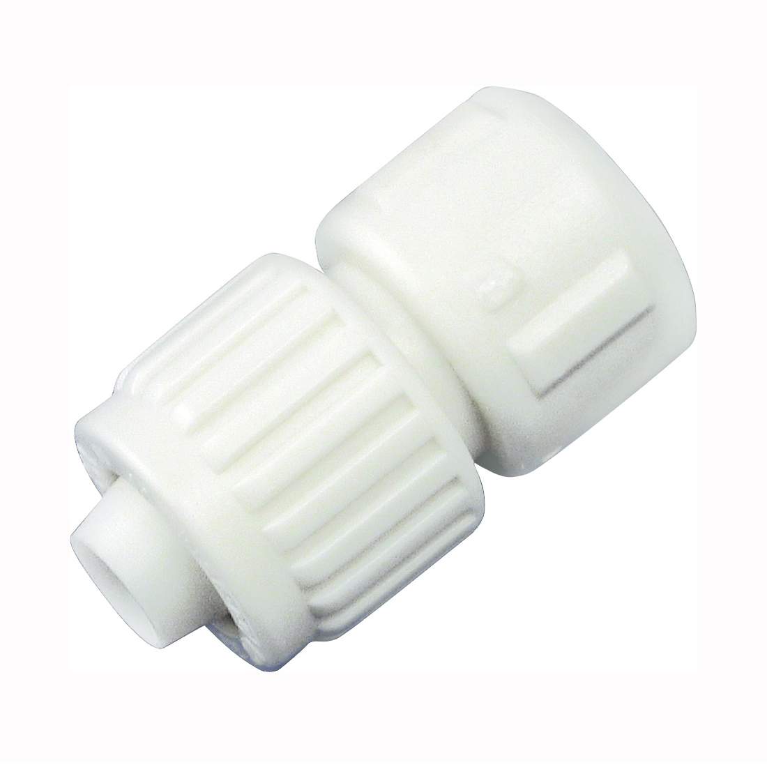 Picture of Flair-It 16841 Tube to Pipe Adapter, 1/2 in, PEX x FPT, Polyoxymethylene, White