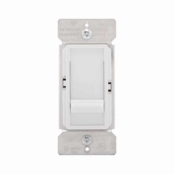 Picture of Eaton Wiring Devices SI061-V-K Decorator Dimmer, 120 V, 600 W, Halogen, Incandescent Lamp, 3-Way, Ivory