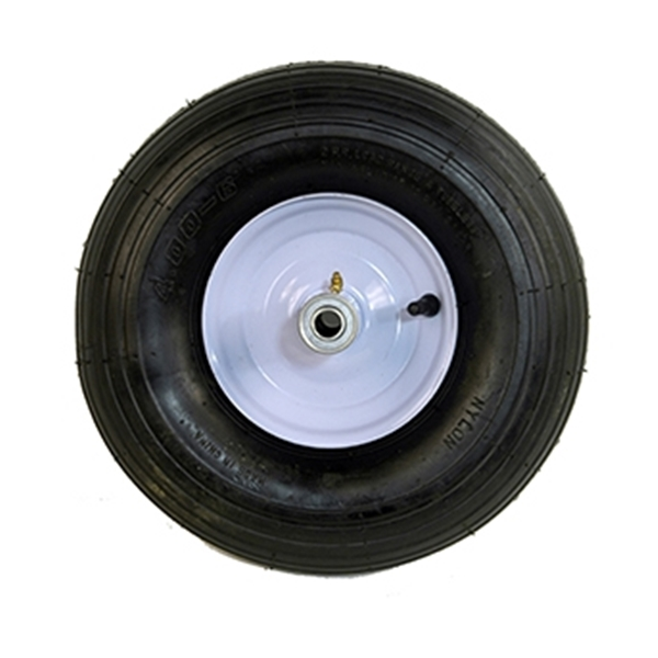 Picture of ARNOLD WB-466 Pneumatic Wheel, 4 x 6 in Tire, 14 in Dia Tire, Ribbed Tread, 6 in L Hub