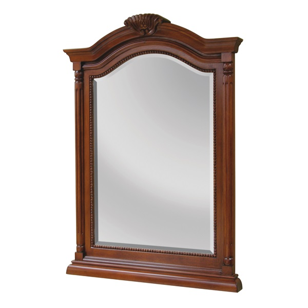 Picture of Foremost Wingate WIM2635 Mirror, Rectangular, 26 in W, 36 in H, Wood Frame, Wall Mounting