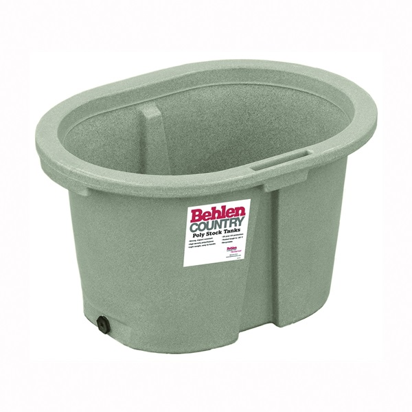 Picture of Behlen Country 52110047GT Farm Stock Tank, Round, 50 gal Capacity, Polyurethane, Granite Tan
