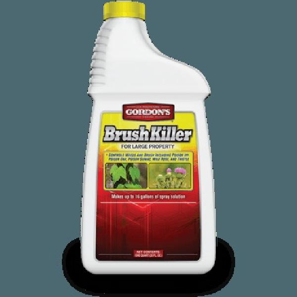 Picture of Gordon's 2321862 Brush Killer, Liquid, Black/Brown, 1 qt Package, Bottle