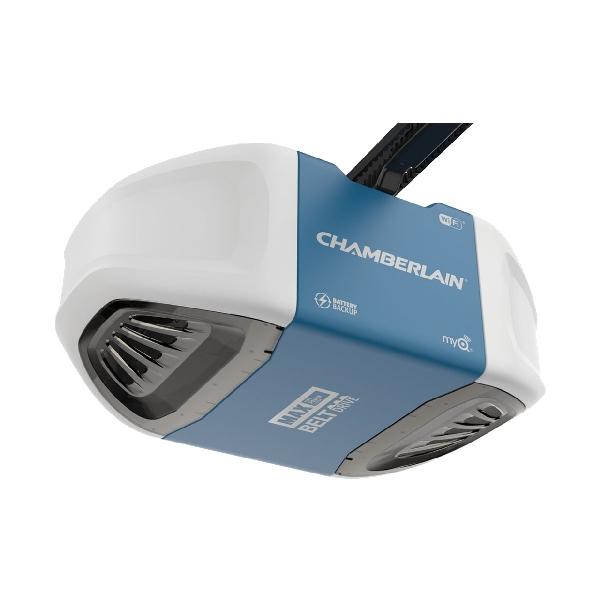 Picture of Chamberlain B970 Garage Door Opener, 120 V, Smartphone Control