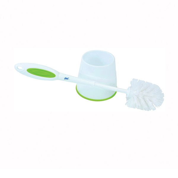Picture of Quickie Lysol 57305 Bowl Brush with Caddy, Round, Poly Fiber Bristle