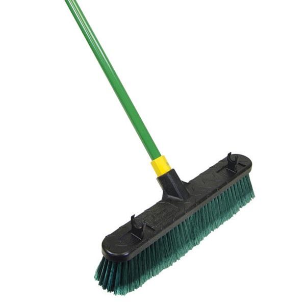 Picture of Quickie Bulldozer 00528 Push Broom, Polypropylene Bristle, Steel Handle