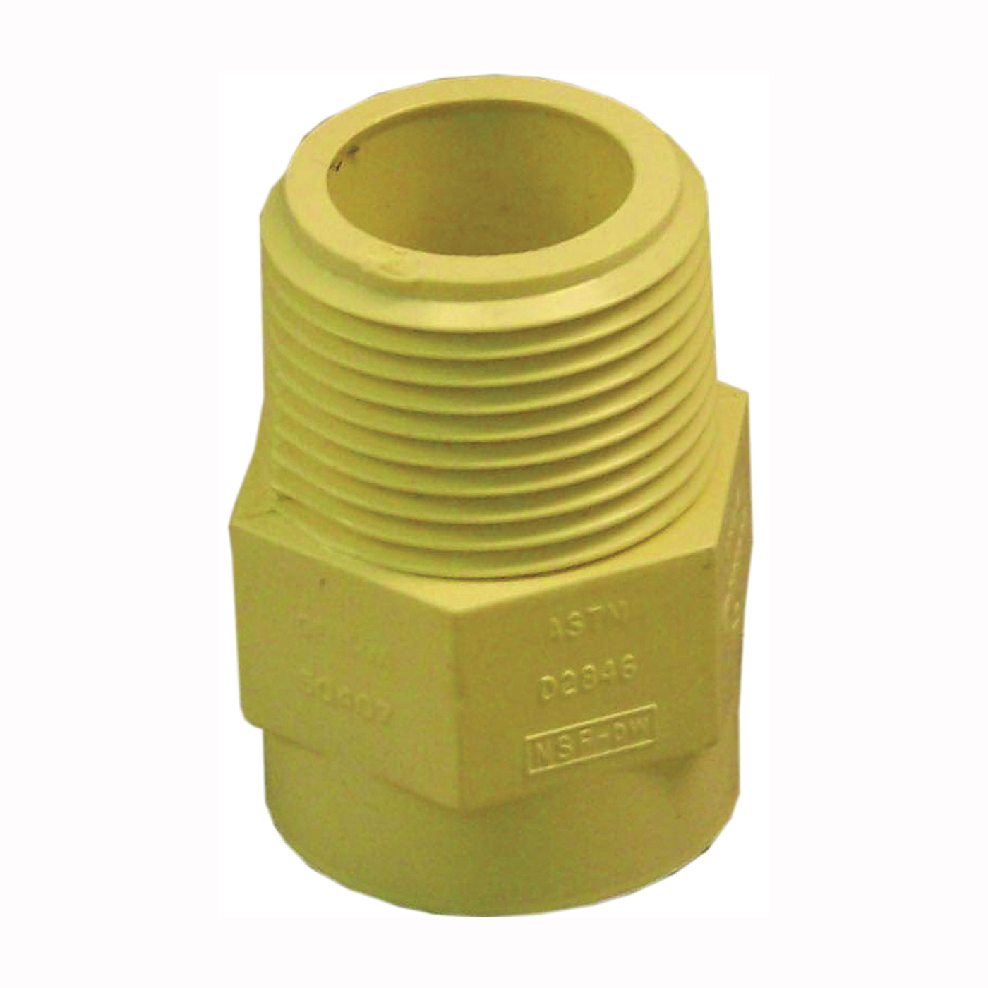 Picture of GENOVA 500 50407 Male Adapter, 3/4 in, MIP x Slip, CPVC, 100 psi Pressure