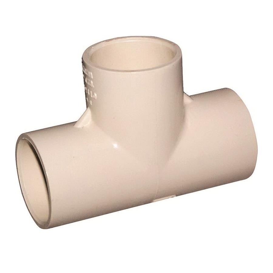 Picture of GENOVA 500 51407 Tube Tee, 3/4 in, Slip x Slip-Joint, CPVC, 100 psi Pressure