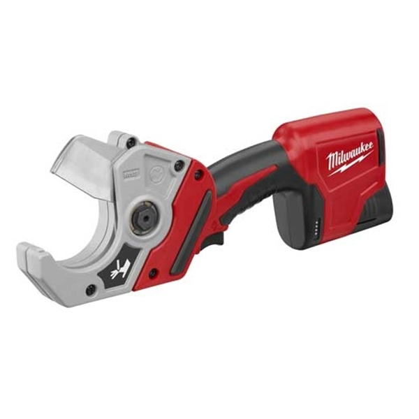 Picture of Milwaukee 2470-21 Plastic Pipe Shear Kit, Kit, 12 V Battery, 1.5 Ah, 2 in Cutting Capacity, Battery Included: Yes