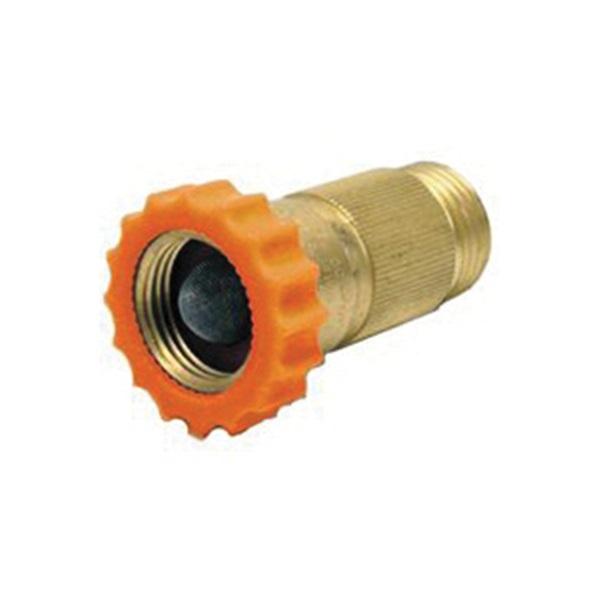 Picture of US Hardware RV-321C Water Pressure Regulator, 3/4 in ID, Female x Male, 40 to 50 psi Pressure, Brass