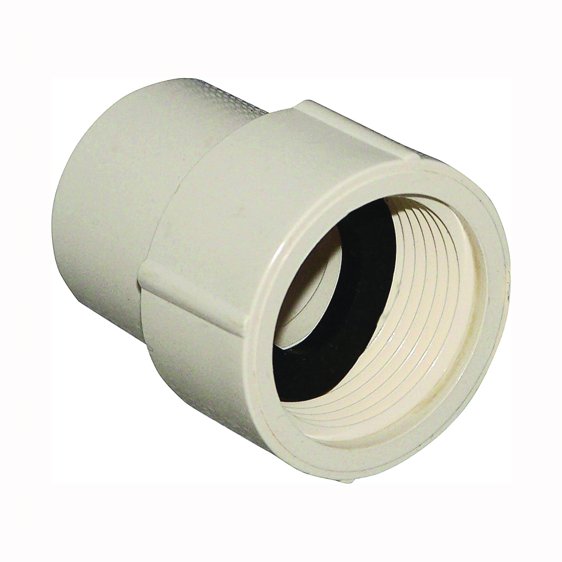 Picture of GENOVA 500 50305 Pipe Adapter, 1/2 in, Slip x FIP, CPVC, 100 psi Pressure