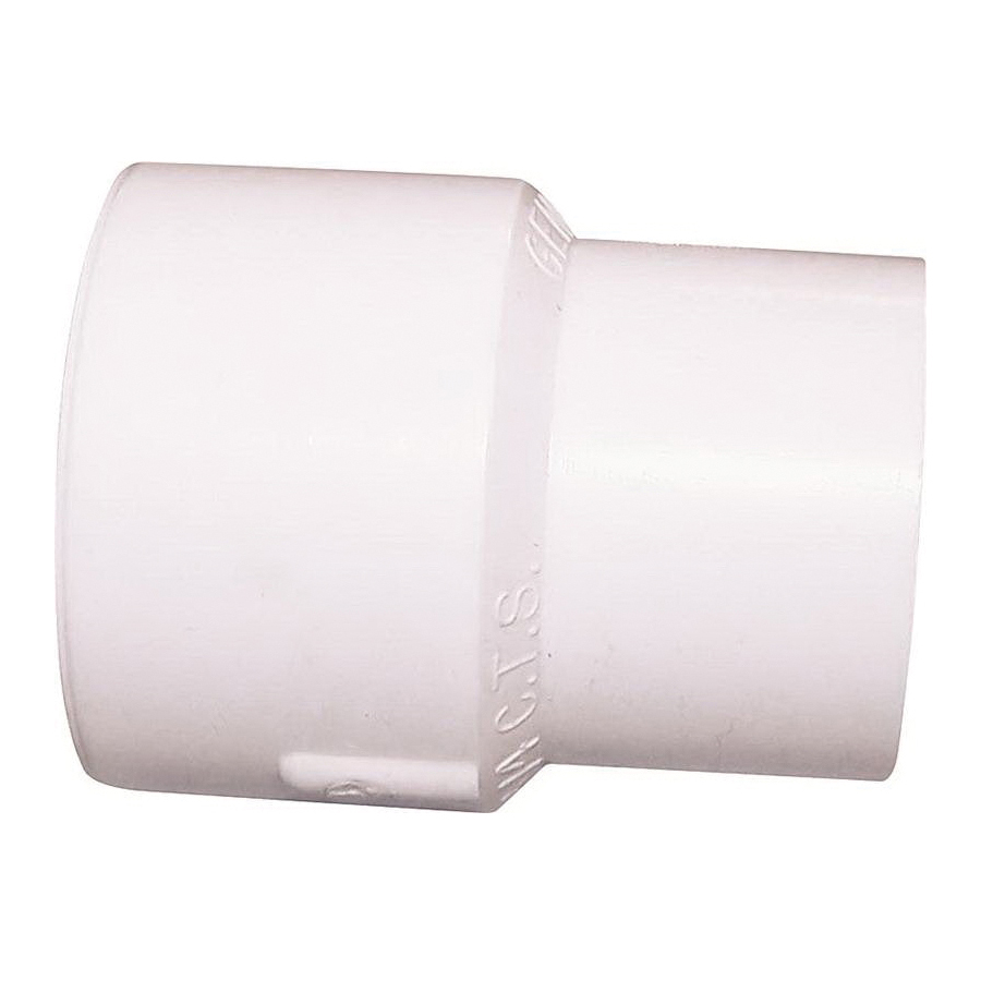 Picture of GENOVA 500 51577 PVC to CPVC Adapter Coupler, 3/4 in, Slip x Slip CTS, CPVC, 100 psi Pressure