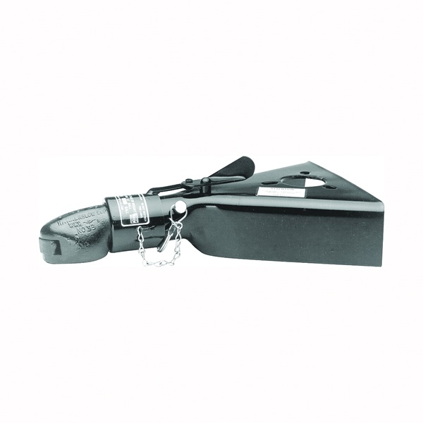 Picture of REESE TOWPOWER 028287 Trailer Coupler, 7000 lb Towing, 2 in Trailer Ball, Low-Profile Latch, Steel