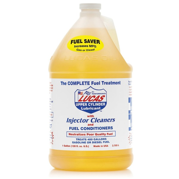 Picture of Lucas Oil 10013 Fuel Treatment Clear Yellow, 1 gal Package, Bottle