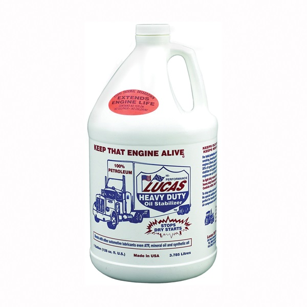 Picture of Lucas Oil 10002 Oil Stabilizer, 1 gal Package, Bottle, Petrol