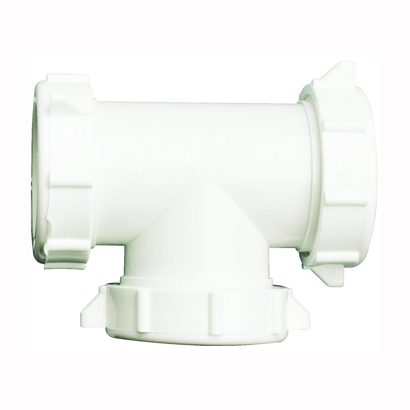 Picture of Plumb Pak PP20556 Coupling Tee, 1-1/2 in, PVC
