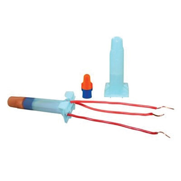 Picture of 3M DBO/B-6 Underground Splice Kit, 18 to 10 AWG Wire, Blue/Orange