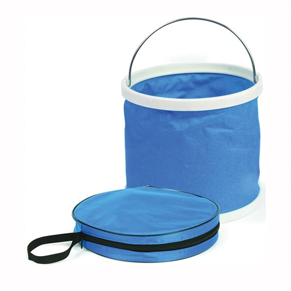 Picture of CAMCO 42993 Collapsible Bucket, Blue, 9-1/4 in H
