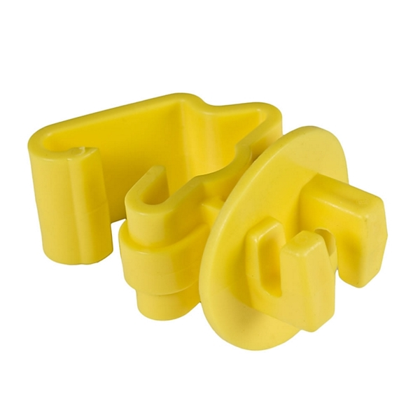 Picture of Zareba Fi-Shock ITY-FS Snug-Fitting T-Post Insulator, Yellow