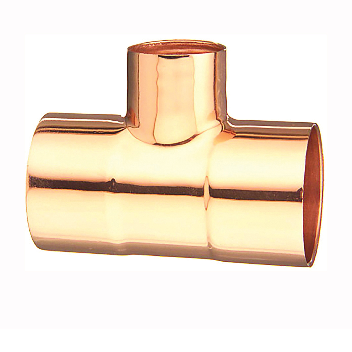 Picture of EPC 111R Series 32918 Pipe Reducing Tee, 1-1/2 x 1-1/2 x 3/4 in, Sweat, Copper