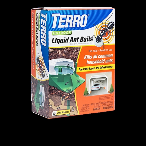 Picture of TERRO T1806-6 Ant Bait, Liquid, Sweet, 6 oz Package