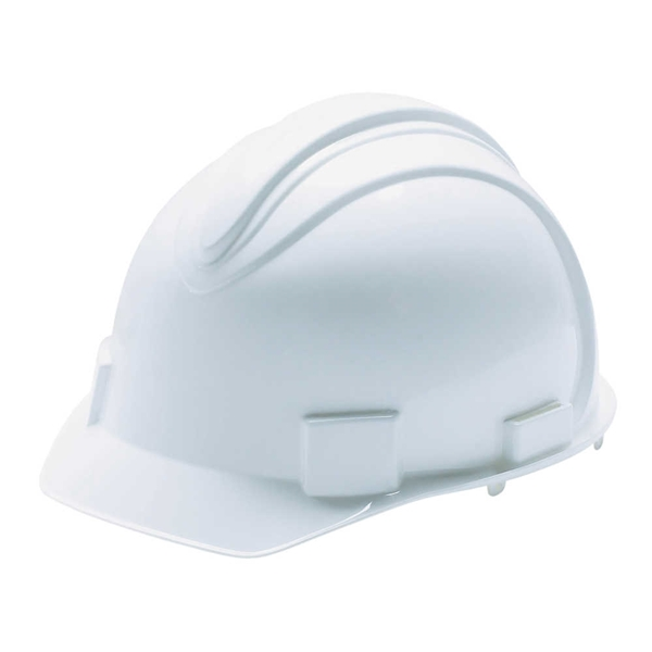 Picture of JACKSON SAFETY SAFETY 3013362 Hard Hat, 11 x 9-1/2 x 8-1/2 in, 4-Point Suspension, HDPE Shell, White