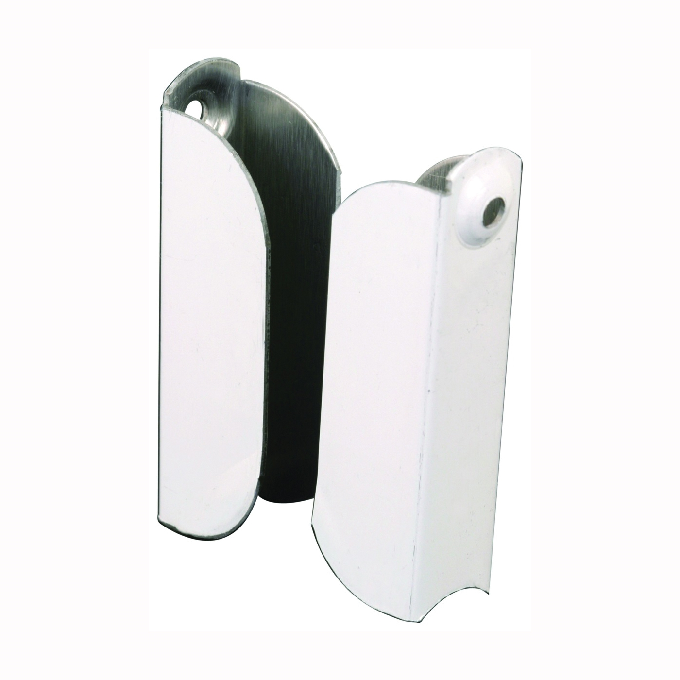 Picture of Make-2-Fit PL 7845 Screen Frame Top Hanger, Aluminum, Painted, White, For: 7/16 in Screen Frame