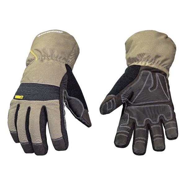 Picture of Youngstown Glove 11-3460-60-L Extra-Tough Work Gloves, Men's, L, 9 to 9-1/2 in L, Wing Thumb, Gauntlet Cuff